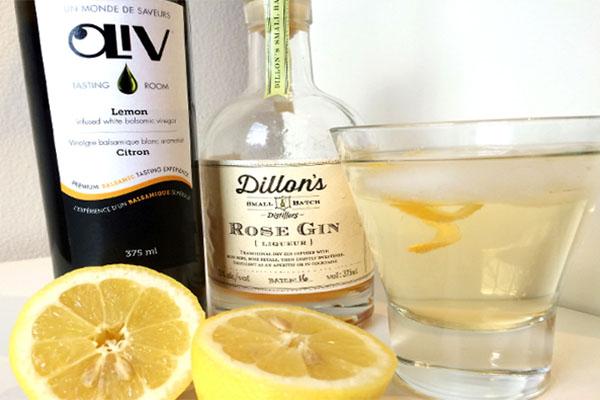 Lemon Rose Gin & Tonic