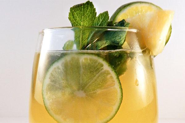 Pineapple Lime Mojito